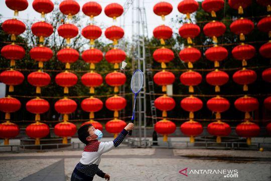 Suasana kota Wuhan jelang perayaan imlek