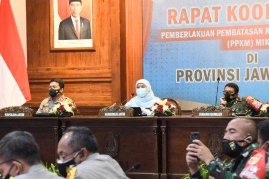 Gubernur Jatim: Seluruh daerah laksanakan PPKM Mikro berbasis RT/RW