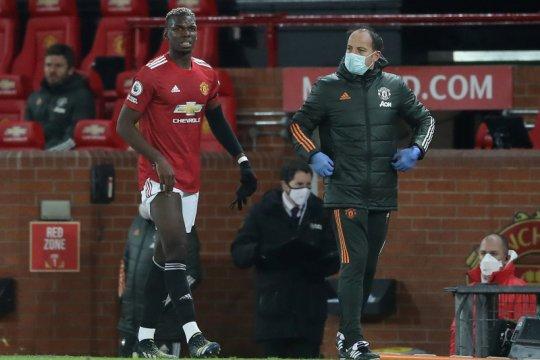 Pogba masih absen karena cedera paha, kata Solskjaer