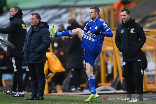 Jamie Vardy dipastikan dapat menit bermain di laga Piala FA