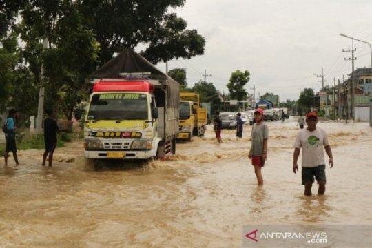 Banjir di Jombang Jatim mulai surut