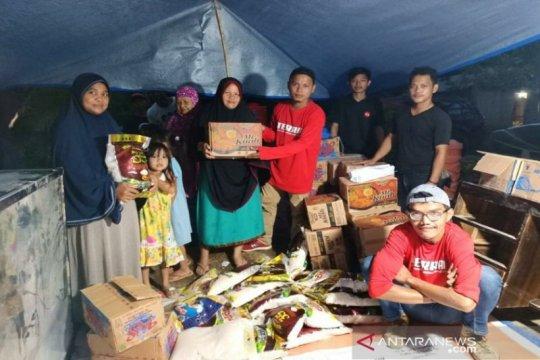 Telkomsel salurkan bantuan logistik warga terdampak gemba Sulbar