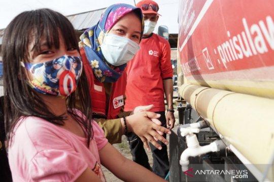 PMI edukasi pengungsi pentingnya penerapan prokes