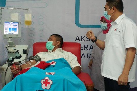 PMI: Proses donor plasma di Makassar butuh biaya besar