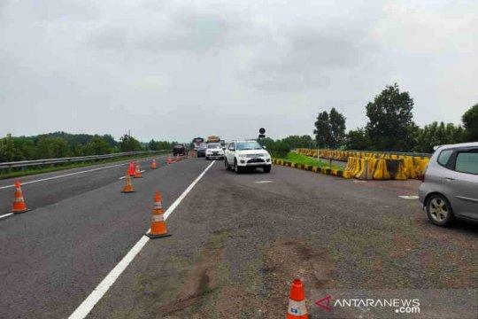 Operator Cipali segera bangun lajur darurat di titik jalan ambles