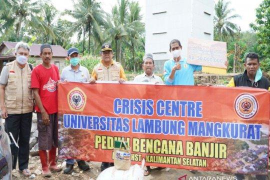 Tim Crisis Centre ULM fokus pemulihan trauma dan kesehatan pascabanjir