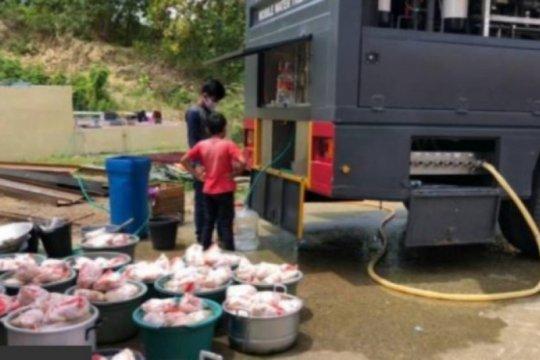 Polda Sulbar salurkan 50.460 makanan untuk pengungsi terdampak gempa