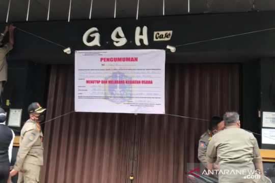Kafe Geisha di Cengkareng ditutup permanen karena langgar prokes