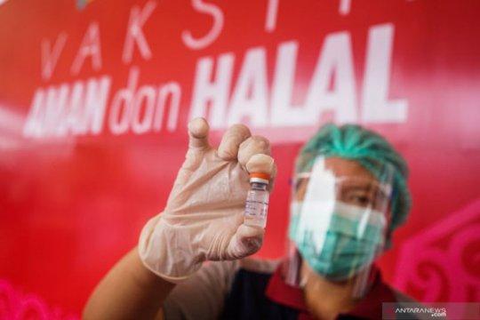 Vaksinasi tenaga kesehatan bertambah 124.139 orang total 969.546