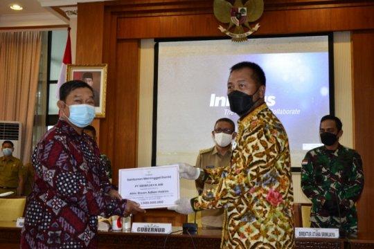 Dirut Sriwijaya serahkan santunan kepada ahli waris penumpang SJ 182