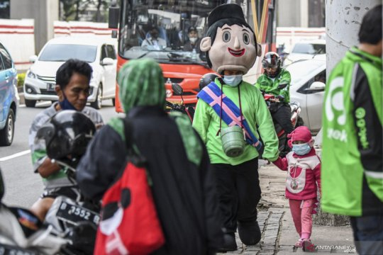 BPS: Persentase penduduk miskin di Jakarta bertambah 0,16 persen