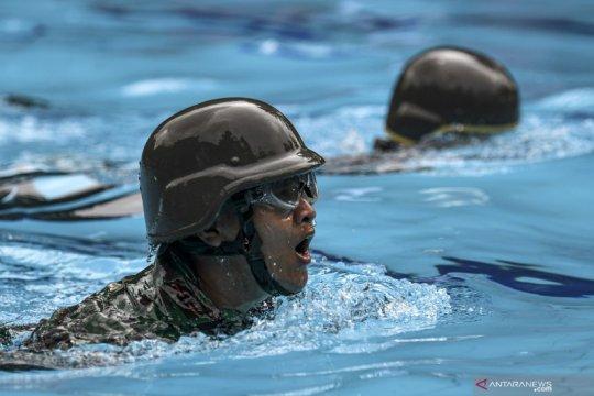 Uji keterampilan dan fisik Korps Marinir