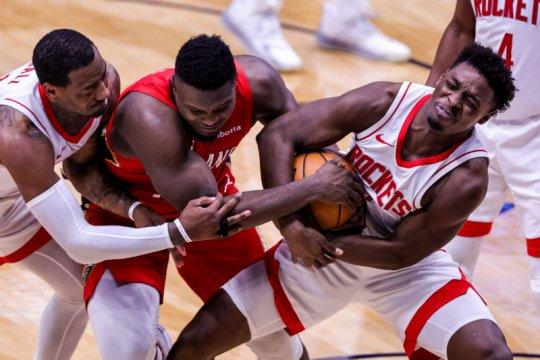 Roundup NBA: Warriors dan Pelicans menang dengan selisih telak