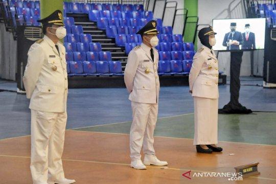 Gubernur lantik Bupati Indramayu, Wabup Tasikmalaya dan Wabup Cirebon