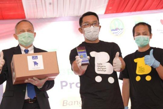"""Ridwan Kamil luncurkan """"borongdong.id"""" pasar bagi UMKM di Jabar"""