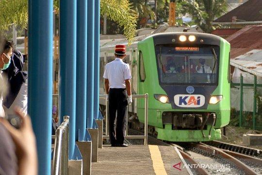 "Stasiun tertua Ranah Minang beroperasi lagi setelah ""mati"" 44 tahun"