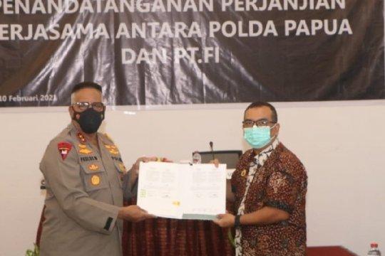 Polda Papua-PT Freeport kerja sama pengamanan dan penegakan hukum