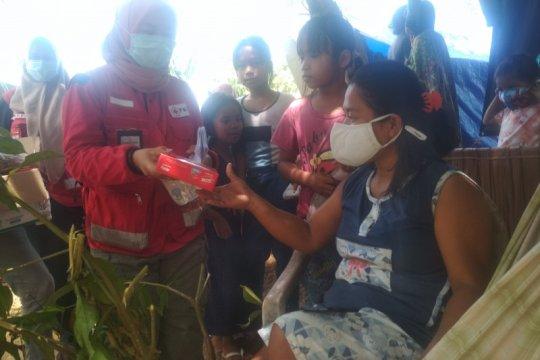Pengungsi di Petekeang Sulbar terserang flu dan diare
