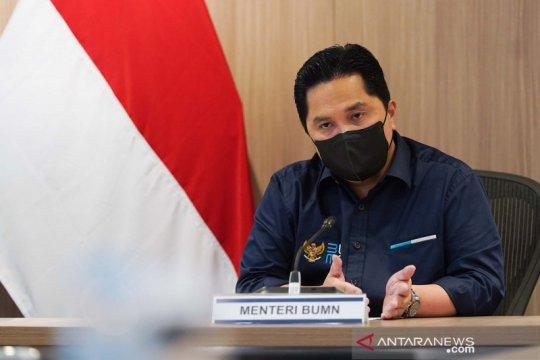 Menteri Erick dorong Garuda maksimalkan bisnis kargo udara