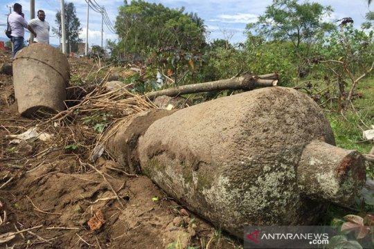 Batu nisan Kesultanan Aceh ditemukan di lokasi proyek jalan tol