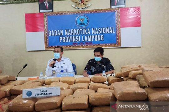 Kemarin, kontak tembak di Papua hingga 248 kg ganja gagal dikirim