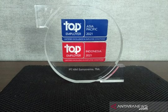 Sampoerna kembali raih Top Employer Indonesia 2021