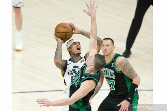 NBA: Jazz kalahkan Celtics 122 - 108