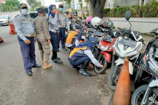 """211 sepeda motor kena """"Operasi Cabut Pentil"""" di Kalibata"""