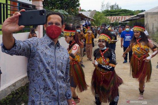 Kunjungan kerja Menteri Pendidikan dan Kebudayaan di Papua Barat