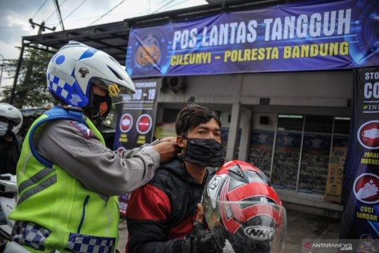 Pemberlakuan PPKM berskala mikro di Kabupaten Bandung
