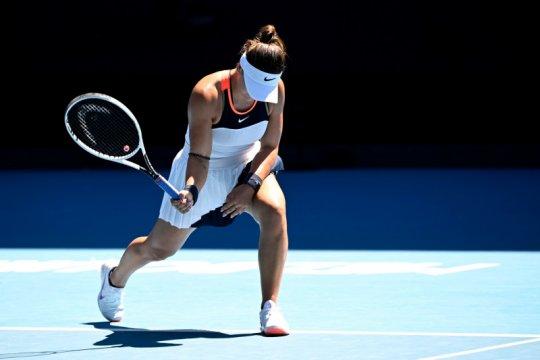 Andreescu tetap percaya diri meski tersingkir di Australian Open