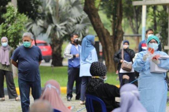 Sebanyak 150 warga Kota Madiun jalani tes usap massal