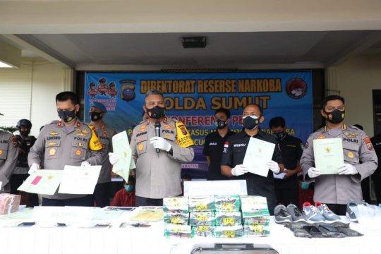 Polda Sumut jerat bandar narkoba Man Batak dengan UU TPPU
