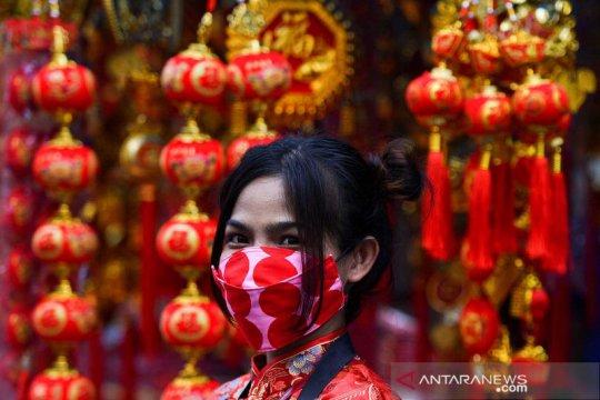 Jelang perayaan Tahun Baru Imlek di Bangkok
