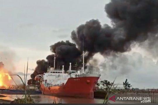 Kapal yang terbakar di Samarinda milik anggota DPR RI