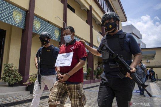 Polda Sumsel tangkap 27 pengedar dan tujuh pemakai narkoba