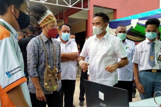Menteri Pendidikan dan Kebudayaan tinjau sekolah di Sorong