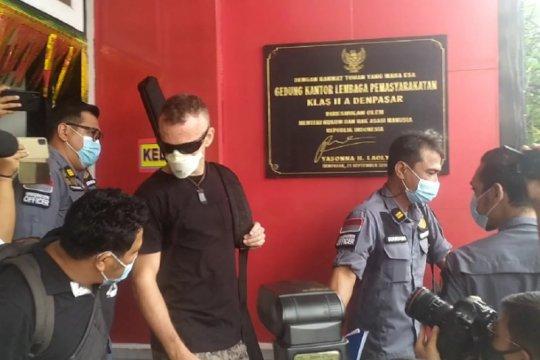 Napi asal Inggris yang bunuh polisi di Bali bebas dari LP Kerobokan
