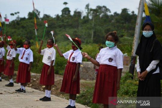 Menteri Nadiem harapkan siswa SMK di Papua berpikir kewirausahaan