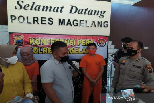 Polres Magelang ungkap kasus aborsi, tahan tiga tersangka