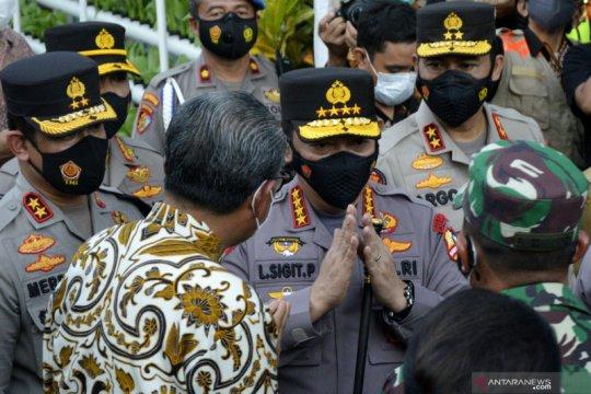 Kunjungan kerja Kapolri di Makassar