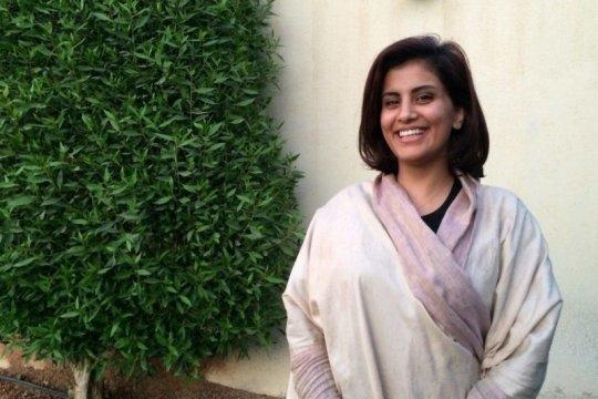 Loujainal-Hathloul, aktivis perempuan Arab Saudi, bebas dari penjara