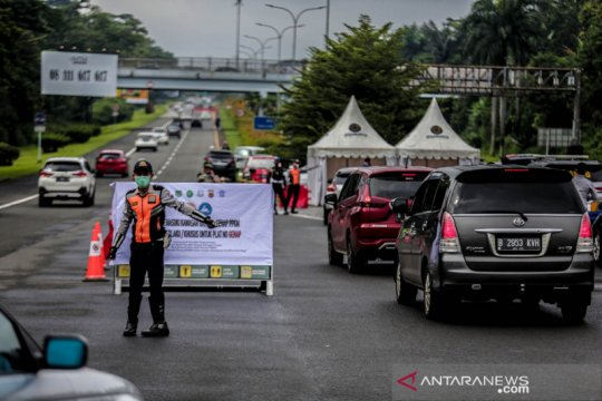 Ganjil-genap di Kota Bogor, putarbalikkan 3.035 kendaraan