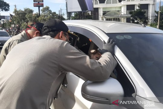 Langgar ganjil-genap di Kota Bogor, 63 kendaraan didenda Rp50.000