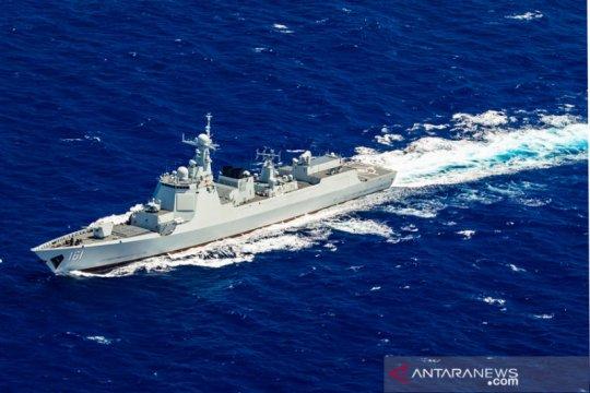 China kerahkan perusak radar di latihan bersama Rusia-AS di Pakistan