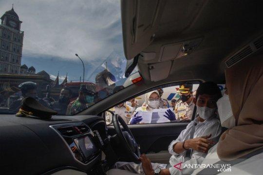 Berlibur ke Puncak, wisatawan dicek surat keterangan tes cepat antigen