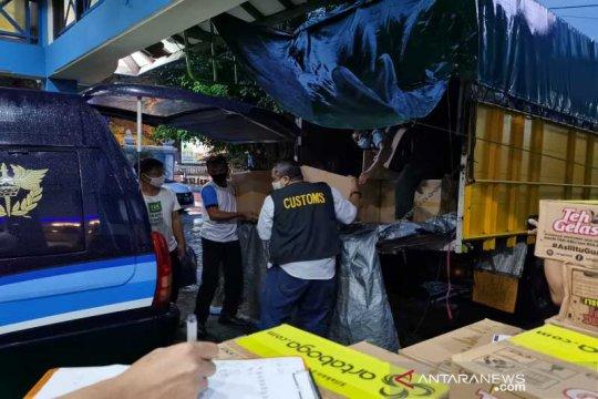 Bea Cukai Surakarta amankan 2.160.000 batang rokok ilegal