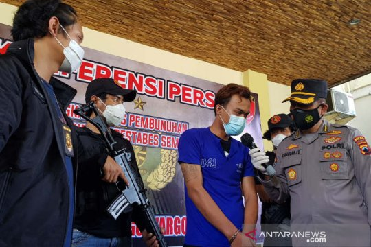 Pembunuh wanita dalam lemari hotel di Semarang diringkus