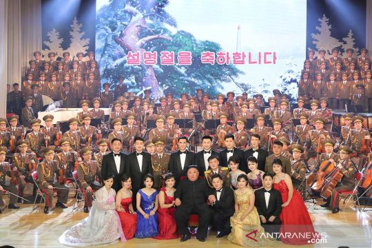 Kim Jong Un hadiri perayaan tahun baru imlek di Pyongyang