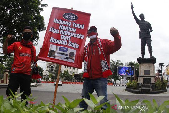 Kampanye nonton Liga Indonesia 2021 dari rumah